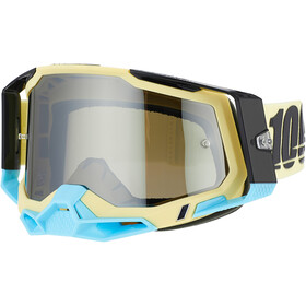 100% Racecraft Anti-Fog Goggles Gen2, beige